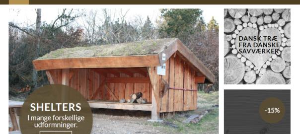Nicewood højbede shelters terasser plankeværk